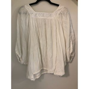 Raulph Lauren white blouse
